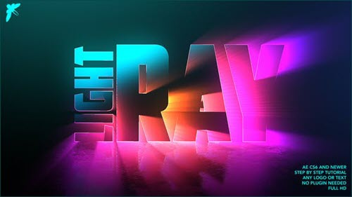Light Ray Logo - 25897006 - Project for After Effects (Videohive)