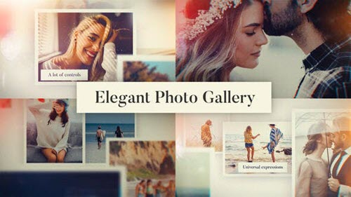 Elegant Photo Gallery - 25910207 - Project for After Effects (Videohive)