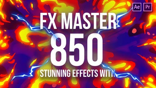 FX Master - Cartoon Action Elements - 26021811 - Script After Effects & Premiere Pro