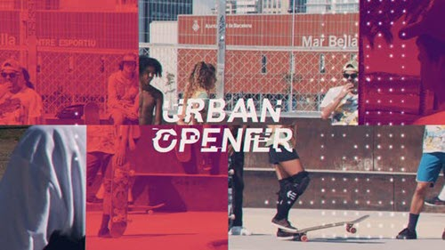 Modern Urban Opener - 23464680 - Project for After Effects (Videohive)