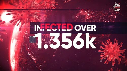 Pandemia - Hot News, Stats, Politics Opener - 26139337 - Project for After Effects