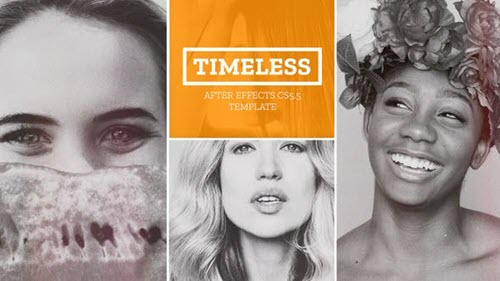 Timeless - Parallax Gallery - Project for After Effects (Videohive)