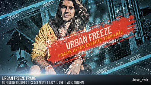 Urban Freeze Frame - 25933656 - Project for After Effects