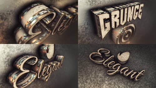 Elegant And Grunge Epic Opener 3D - 22106233 - Project for After Effects