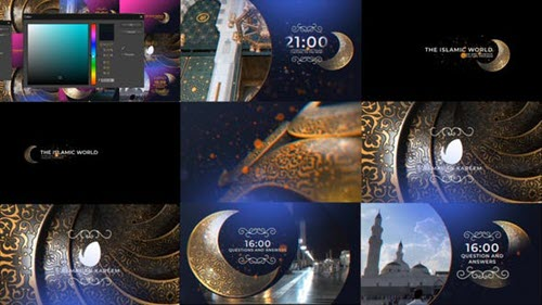 Ramadan Broadcast Pack - 26275744 - Project for After Effects  (Videohive)