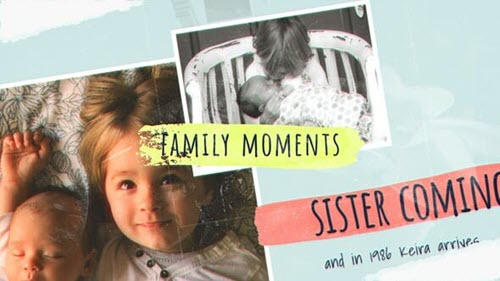 Family Moments Slideshow - 26605206 - Project for After Effects