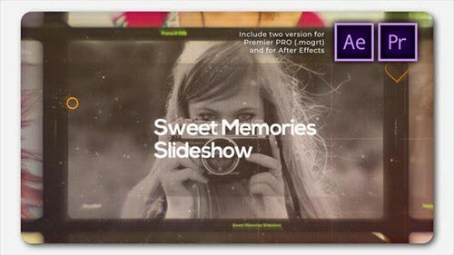 Sweet Memories Cinematic Slideshow - 27178765 - Premiere Pro - Project forAfter Effects - Videohive