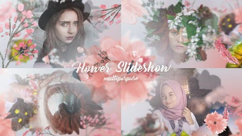 Flower Slideshow - 22289498 - Project for After Effects (Videohive)