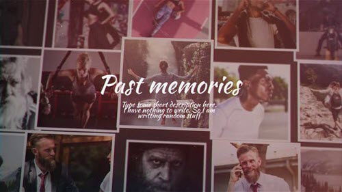 Past Memories - Project for After Effects (Videohive)