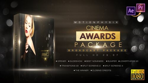 Cinema Awards Package_Premiere PRO - 27764712 - for After Effects (Videohive)