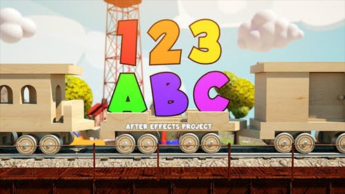 Children's Train - 27774044 - Project for After Effects (Videohive)