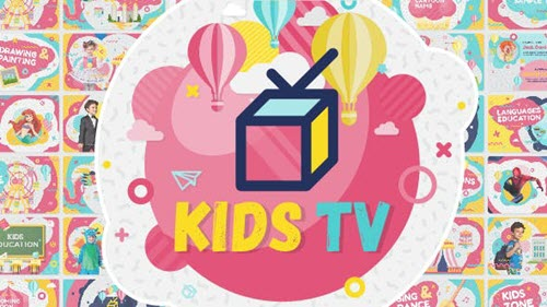 Kids Tv - Broadcast / Social Channel Design - 15890764 - Project for After Effects