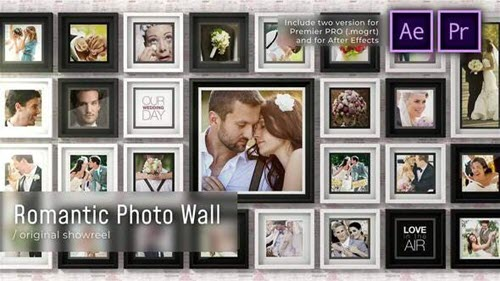 Romantic Photo Wall - 28520442 - Premiere Pro & After Effects Templates