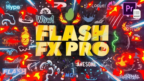 Flash FX Pro For Premiere -27124635 - After Effects Project & Script