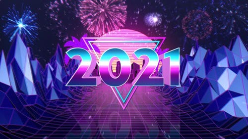 New Year Countdown - Retro Style - 29734009 - Project for After Effects