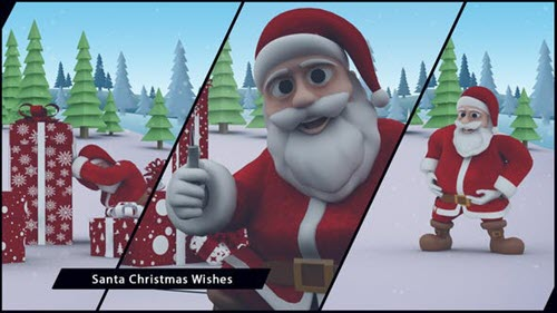 Santa Christmas Wishes - Project for After Effects (Videohive)