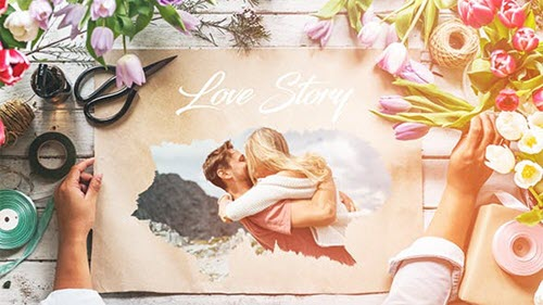 Love Story Slideshow 20679806 - Project for After Effects