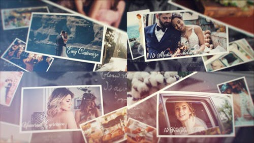 Cinematic Wedding Story - 30196019 - Project for After Effects