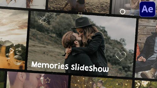 Memories Slideshow | After Effects - 31151517 - Project for After Effects
