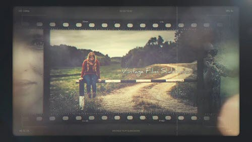 Vintage Film Slideshow - 32112476 - Project for After Effects