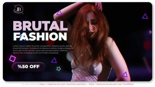 Brutal Fashion ID | Striptease Promo - 34267733 - Project for After Effects