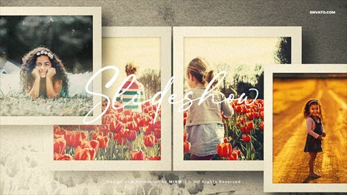 Photo Slideshow - Frames - 34104669 - Project for After Effects
